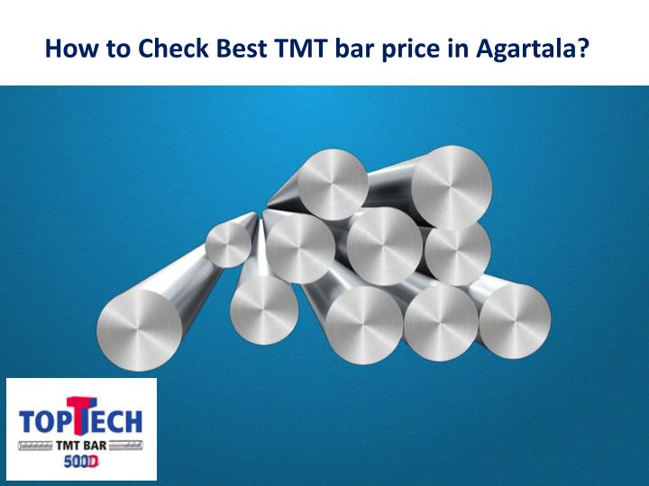 how to check best tmt bar price in agartala n.