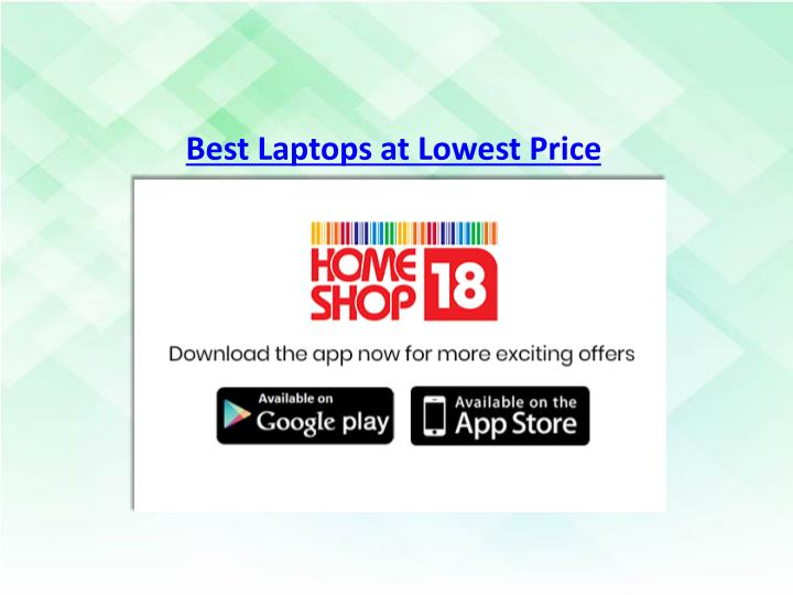 best laptops at lowest price n.
