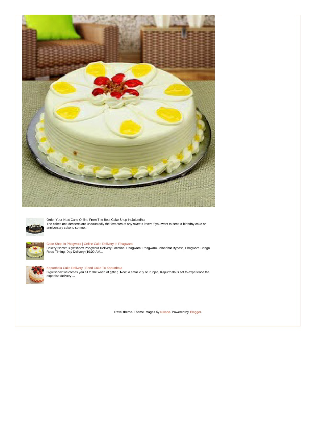 PPT - Order Your Next Cake Online From The Best Cake Shop In