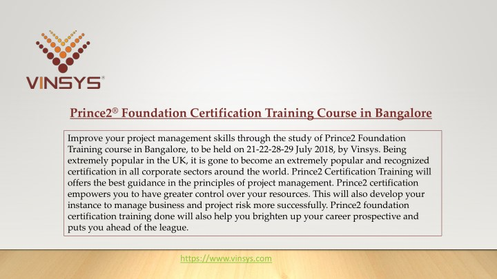 Ppt get verified prince2 foundation exam questions ppt slide.