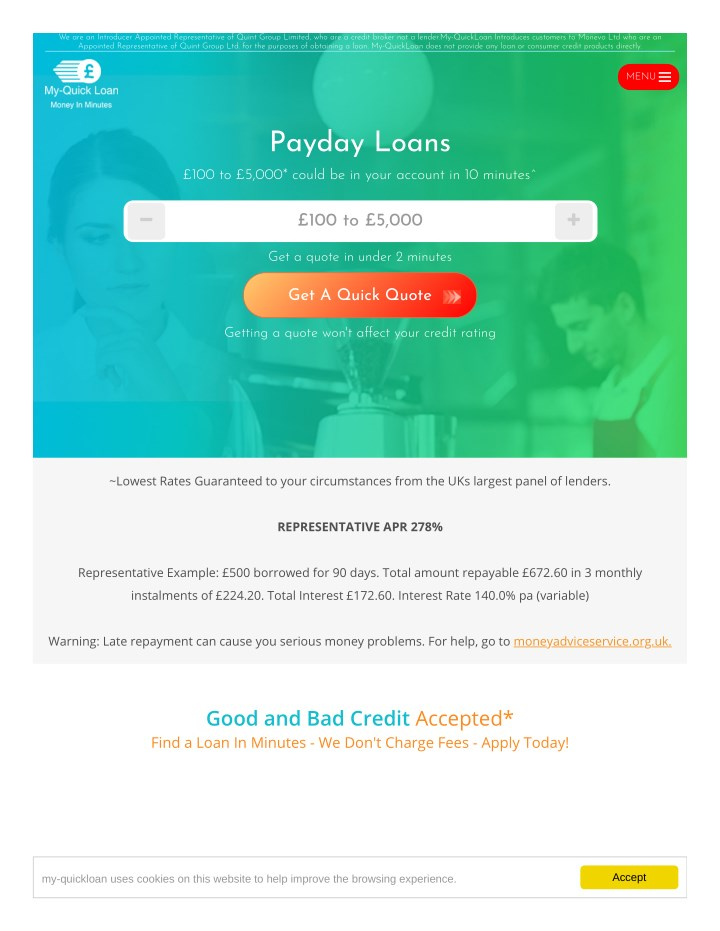 Quick Payday Loans >> Ppt Instant Payday Loans Uk Quick Online Payday Loans