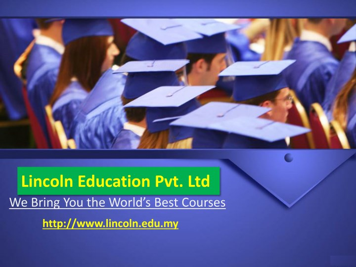 lincoln education pvt ltd we bring you the world n.