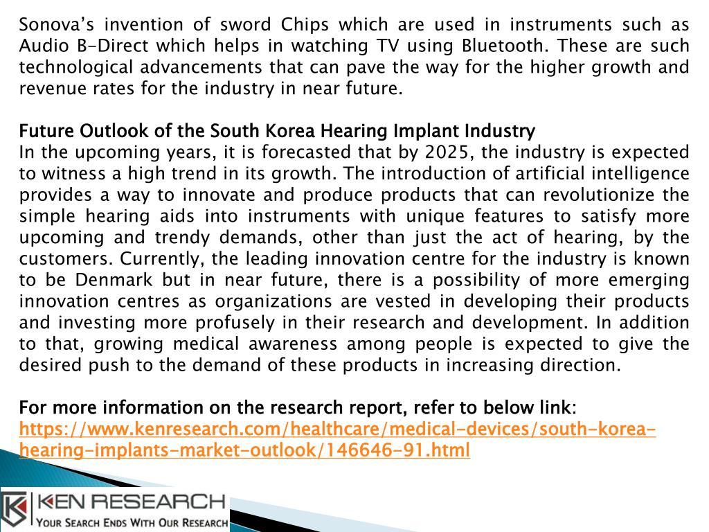 PPT - South Korea Hearing Implants Market Growth Analysis