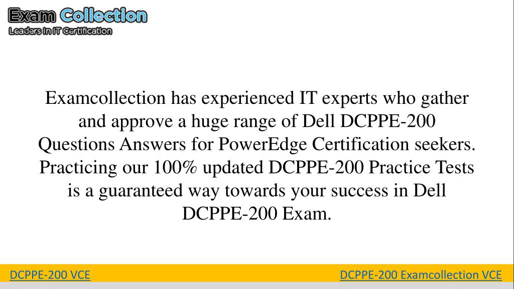 PPT - DCPPE-200 Exam Questions PowerPoint Presentation - ID:7901719