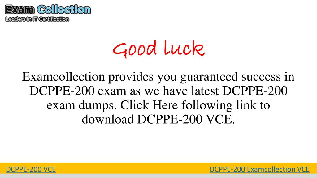 PPT - DCPPE-200 Exam Questions PowerPoint Presentation - ID