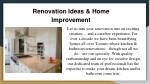 renovation ideas home improvement