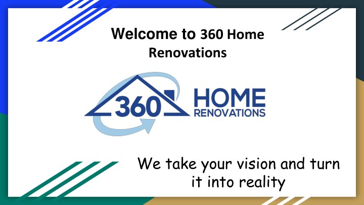 welcome to 360 home renovations n.