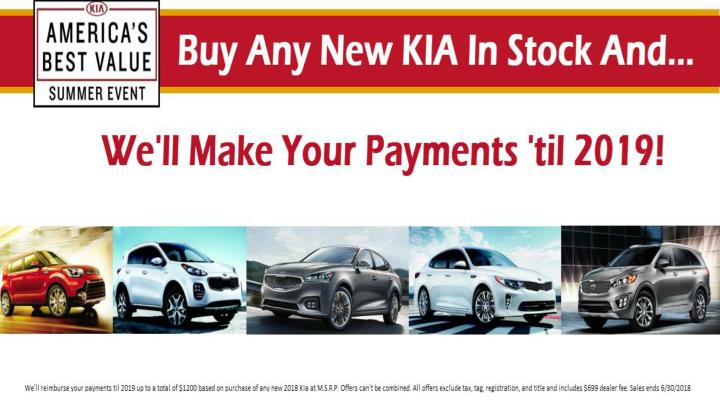 Kia Special Offers >> Ppt America Best Value Summer Event On Kia Cars Special