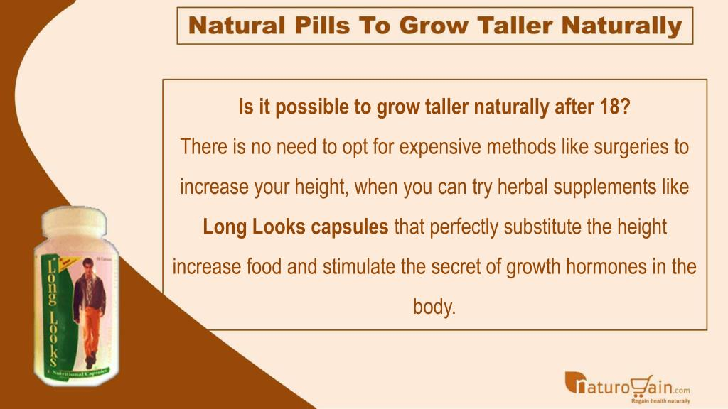 PPT - Height Increase Food, Natural Pills to Grow Taller
