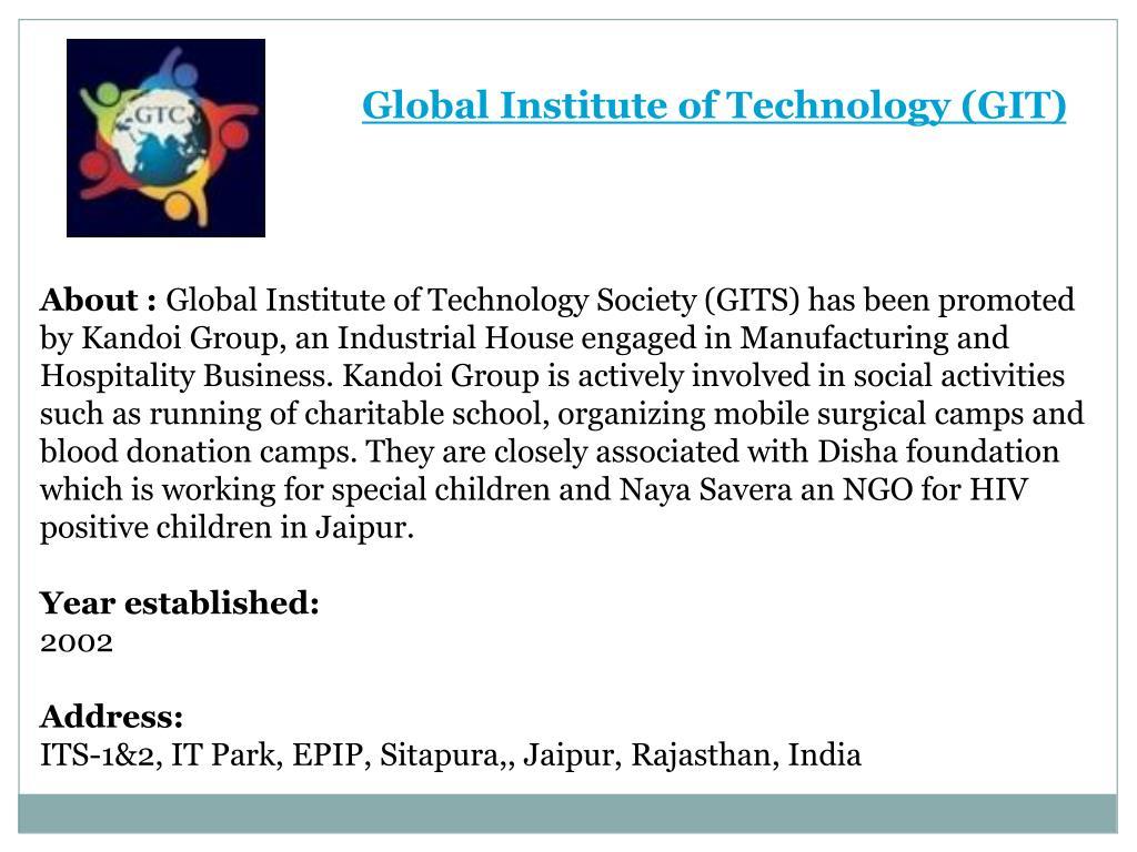 PPT - Best Colleges in Jaipur | Top Jaipur Colleges | My Shiksha