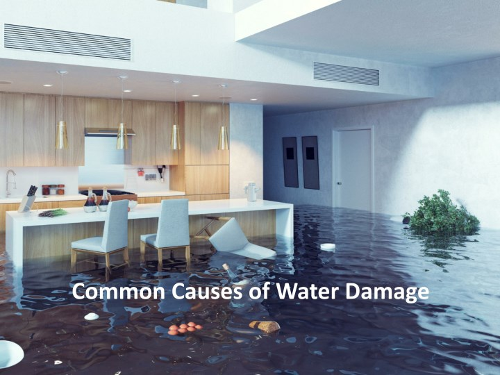 common causes of water damage n.