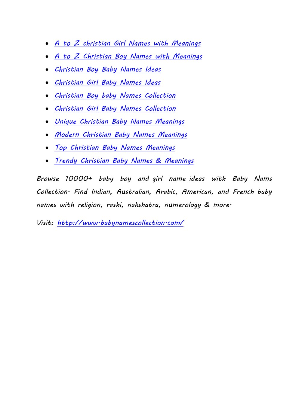 PPT - A to Z Trendy Christian Baby Names   Christian Boy and