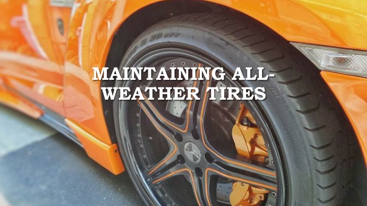 maintaining all weather tires n.