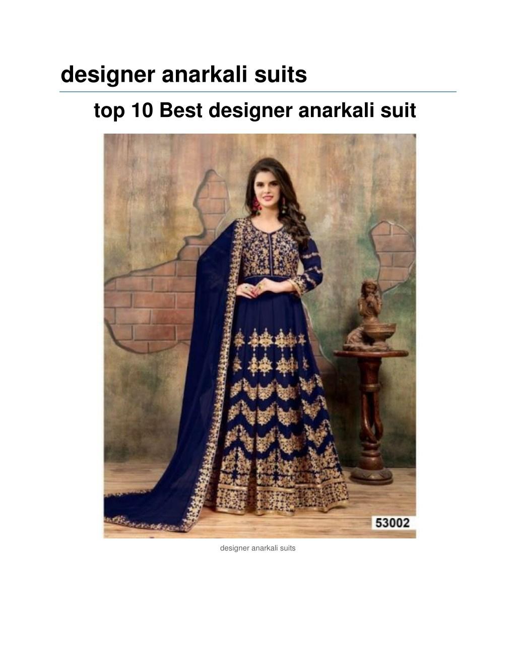 Ppt Salwar Suit Surat Designer Anarkali Suits Powerpoint Presentation Id 7904806