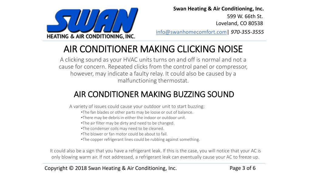 PPT - 7 Sounds your Air Conditioning System Hopefully Doesn