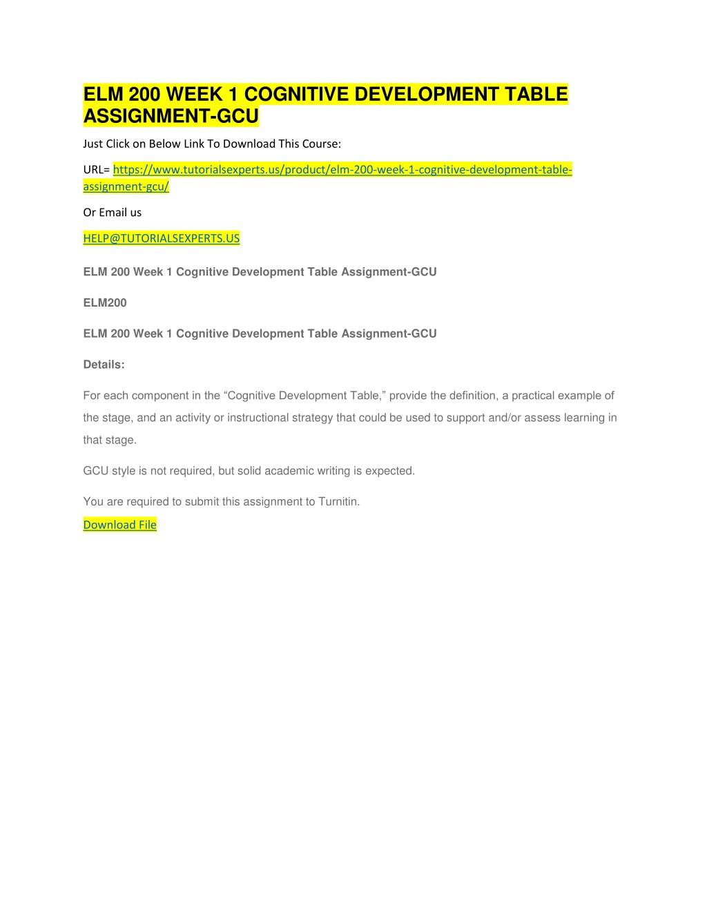 Ppt elm 200 week 4 powerpoint on language development-gcu.