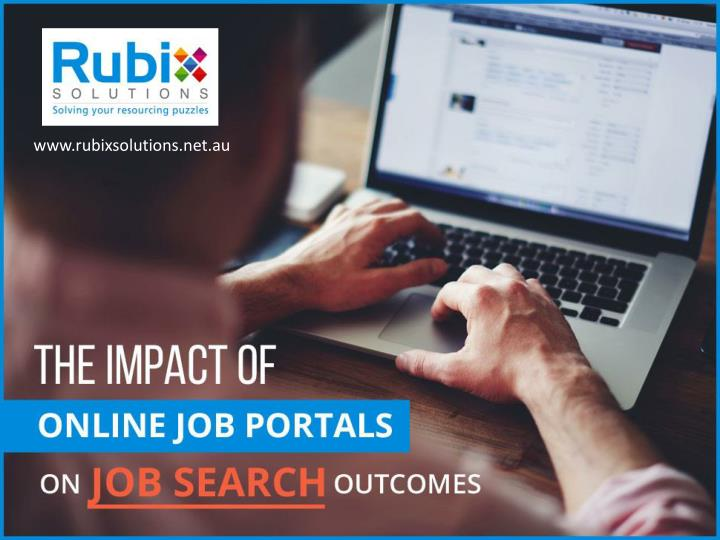 the impact of online job portals on job search outcomes n.