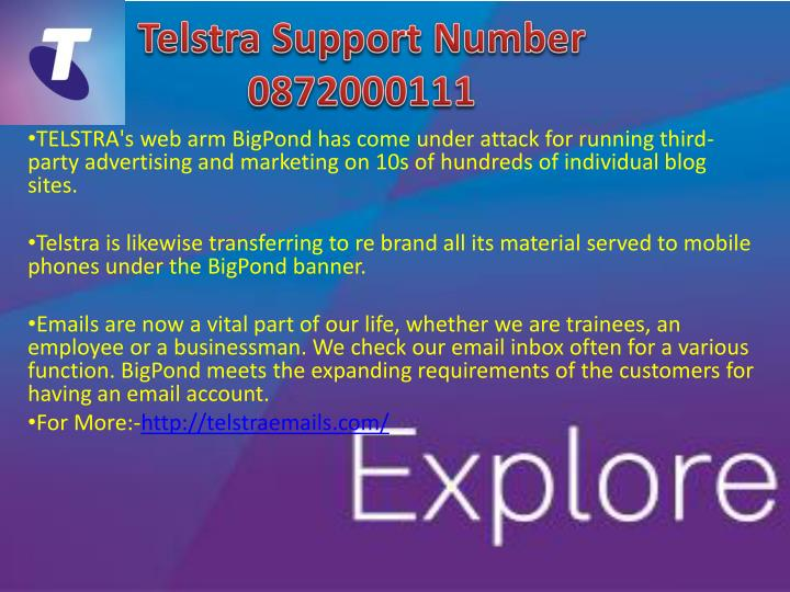 telstra support number 0872000111 n.