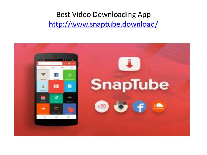 Snaptube old version download for android