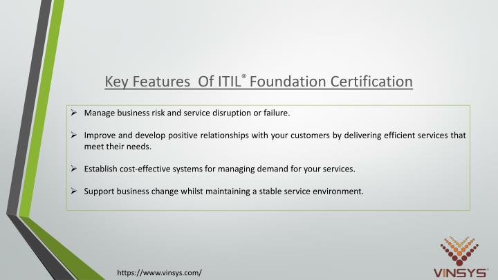 PPT - ITIL Foundation Certification Training in Pune | Vinsys ...
