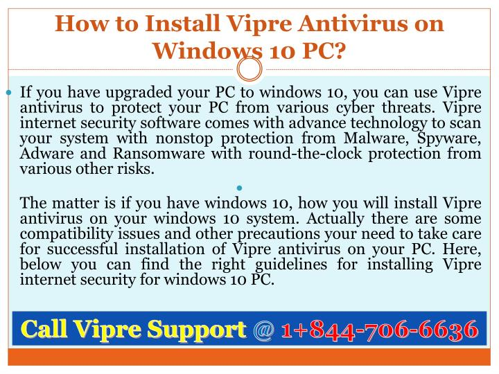 antivirus protection for Windows 10