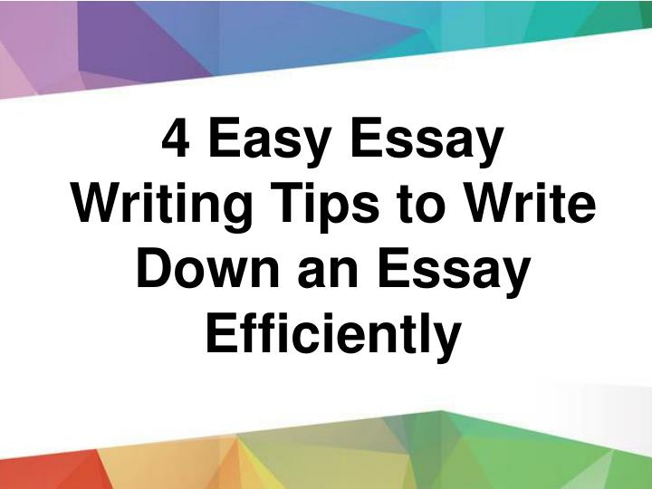 Research Essay Proposal  Easy Essay Writing Tips To Write Down An Essay Efficiently Essay Proposal Examples also Model Essay English Ppt  Best And Attractive  Essay Writing Tips Powerpoint  Animal Testing Essay Thesis