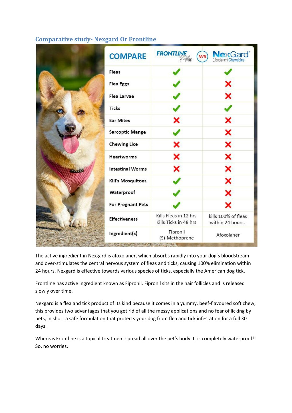 PPT - Which fleas and ticks treatment is better â ...