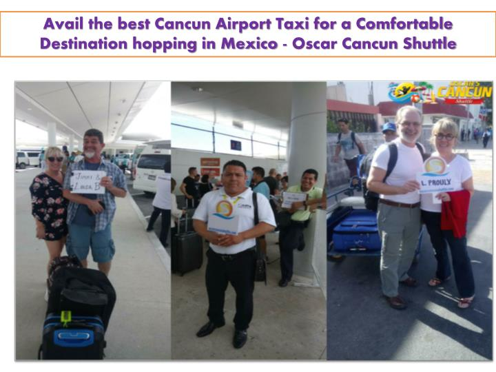 avail the best cancun airport taxi n.