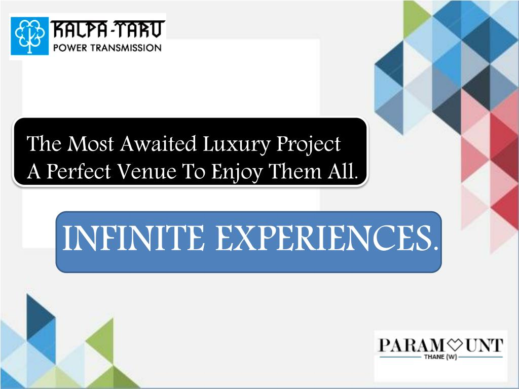 Ppt Kalpataru Paramount A 1 2 3 Bhk Apartments At Heart Of City