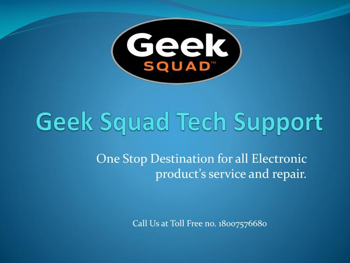 geek squad tech support n.