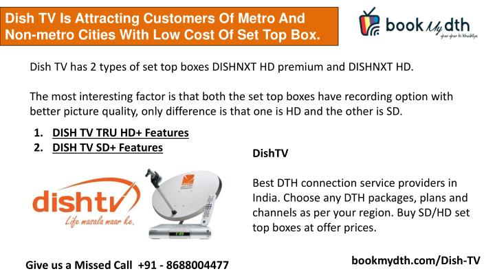 Package 1 EaExclusive for DISHR serviceboth SD amp HD