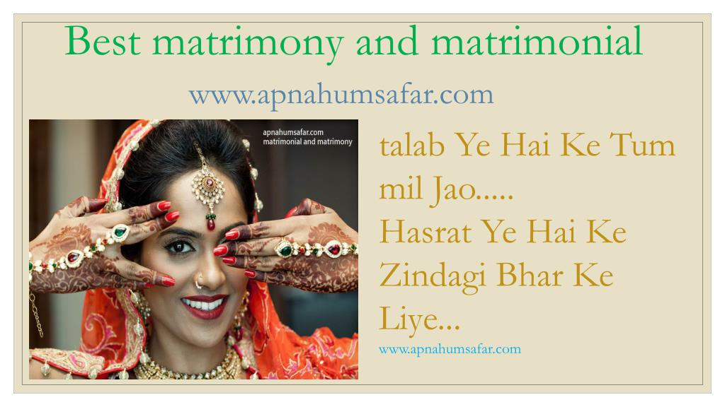 PPT - best marriage sites in india PowerPoint Presentation - ID:7912958