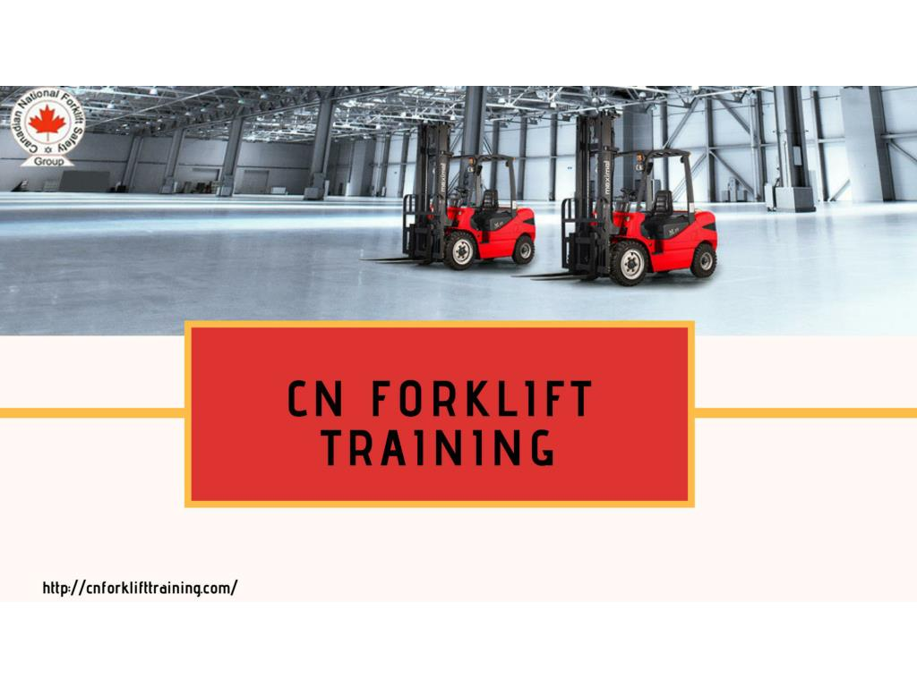 Ppt Forklift Training Certification Brampton Powerpoint
