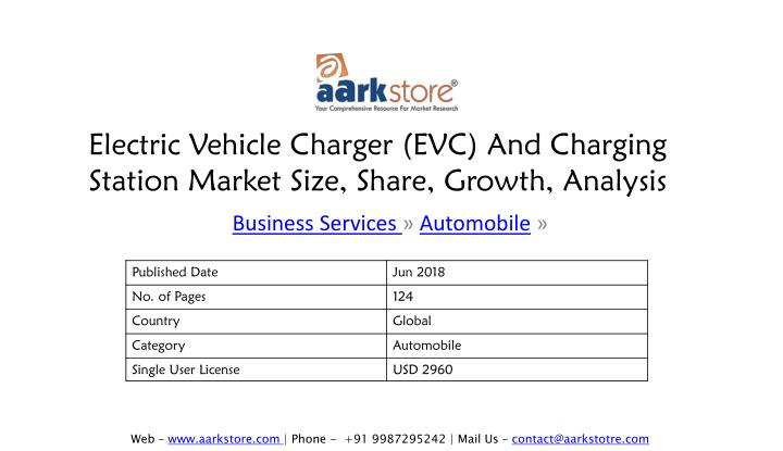 electric vehicle charger evc and charging station market size share growth analysis n.