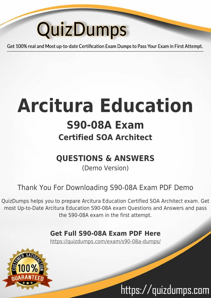 arcitura education s90 08a exam certified n.