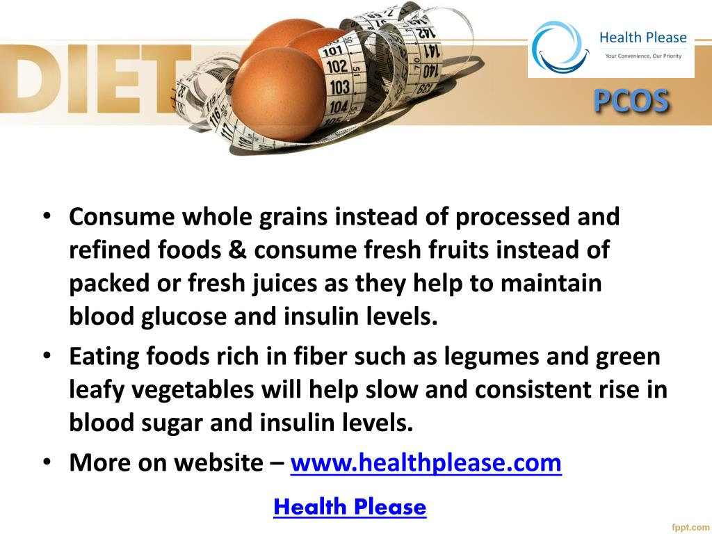 Ppt Read This Expert Pcos Diet Chart To Get Your Healthy Life Back