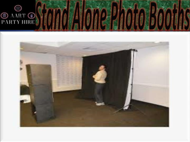 stand alone photo booths n.