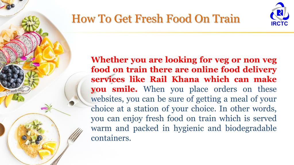PPT - Ease of Ordering for Fresh Food on Train PowerPoint