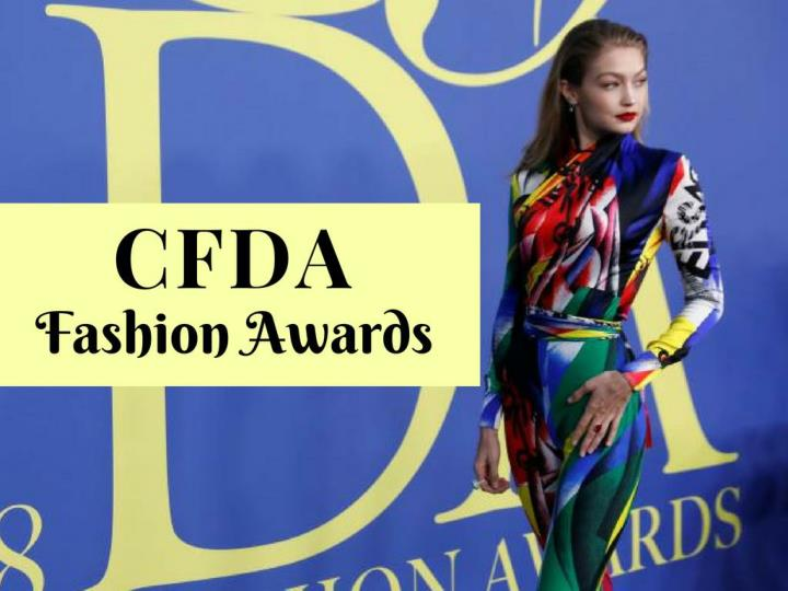 cfda fashion awards n.