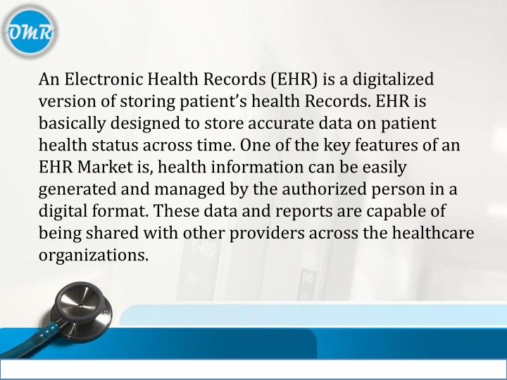 ppt electronic health records ehr market powerpoint presentation