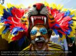 a supporter of the colombian national soccer team