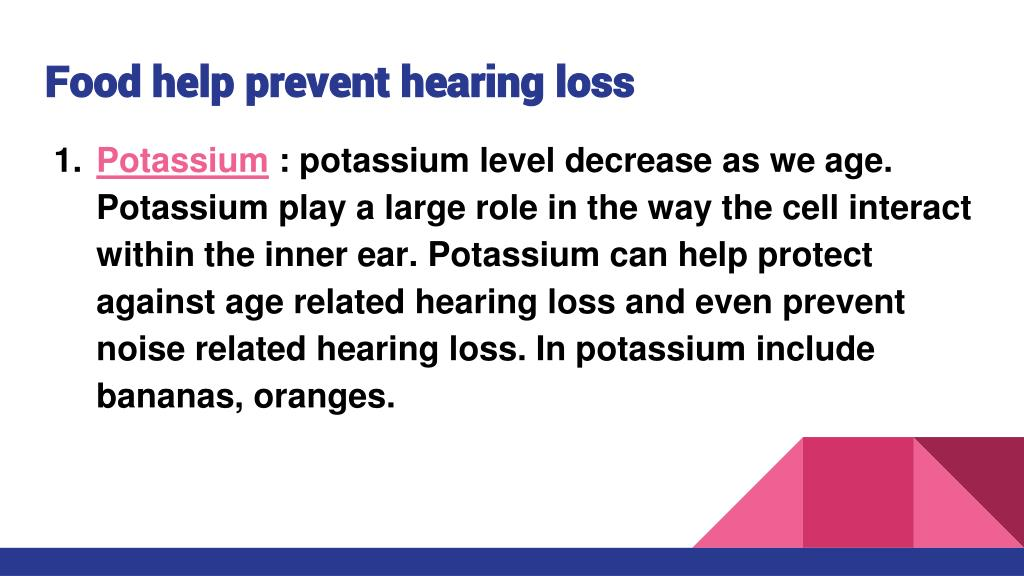 PPT - hearing loss PowerPoint Presentation - ID:7917523