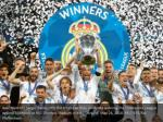 real madrid s sergio ramos lifts the trophy