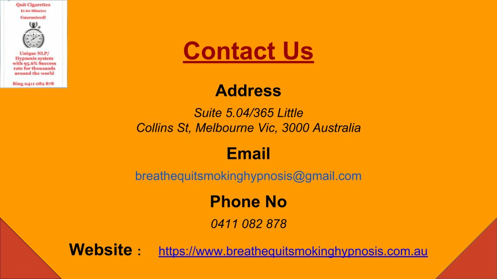 PPT - Quit Smoking Hypnosis | Breathe Hypnotherapy