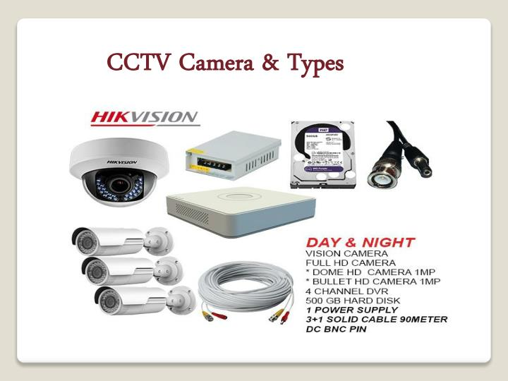 Ppt Cctv Camera Types Powerpoint Presentation Free Download Id 7917627
