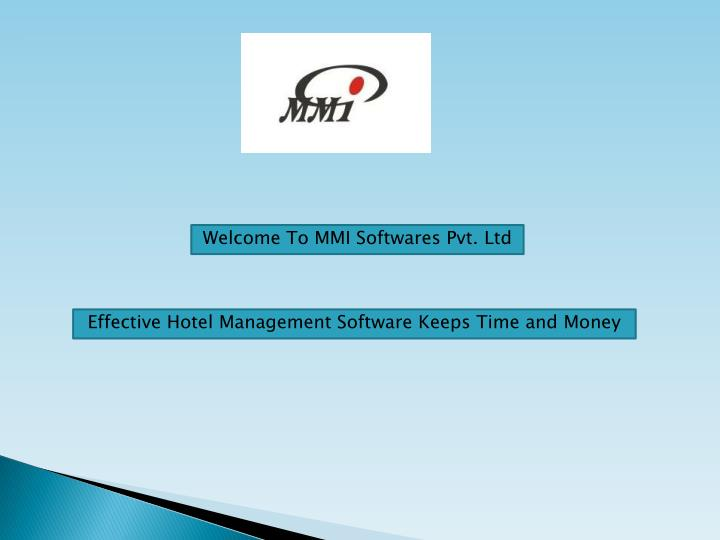 welcome to mmi softwares pvt ltd n.