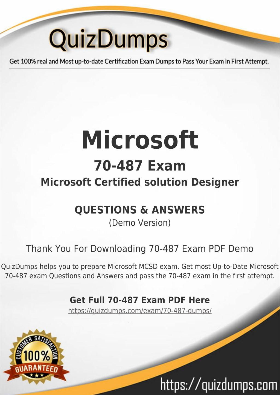 Ppt 70 487 Exam Dumps Get 70 487 Dumps Pdf Powerpoint
