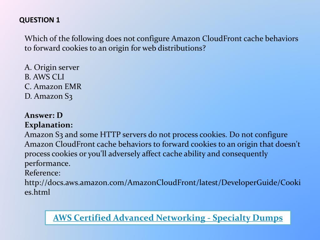 PPT - Your Key To Success: AWS Certified Advanced Networking