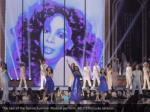 the cast of the donna summer musical perform