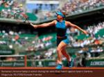 romania s simona halep in action during her semi